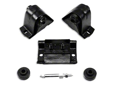 Crown Automotive Engine Mount Kit (87-95 4.0L or 4.2L Jeep Wrangler YJ)