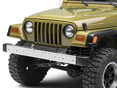 Front Bumper - Stainless Steel (97-06 Jeep Wrangler TJ)