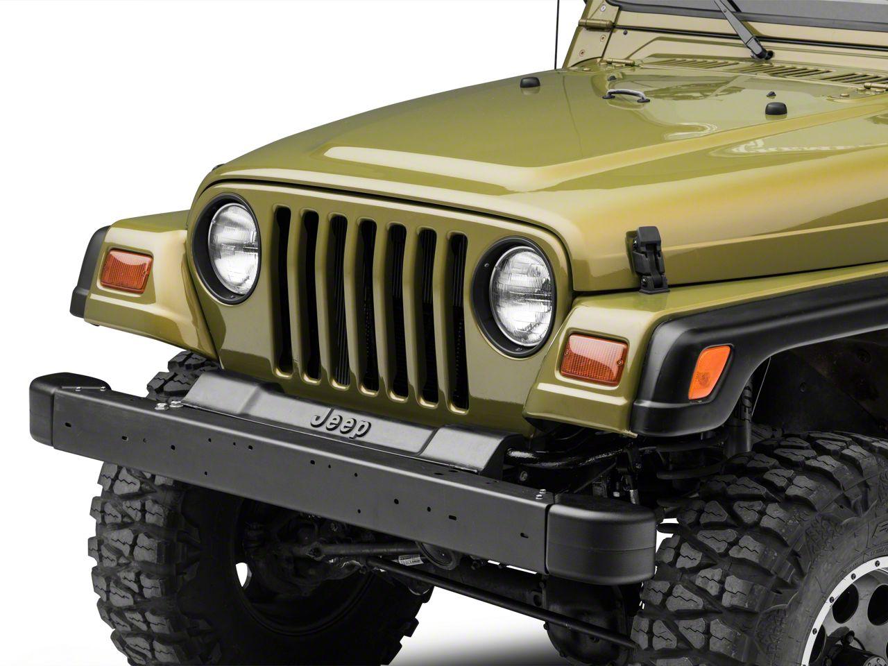 Omix-ADA Front Bumper Kit - Black (97-06 Jeep Wrangler TJ)