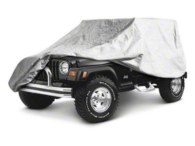 RT Off-Road Full Car Cover - Gray (07-18 Jeep Wrangler JK 4 Door)