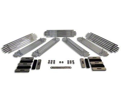 RT Off-Road Grille Inserts - Stainless (07-18 Jeep Wrangler JK)