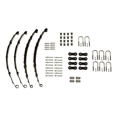 Omix-ADA Heavy Duty Front & Rear Leaf Springs (87-95 Jeep Wrangler YJ w/ Dana 35 Rear Axle)