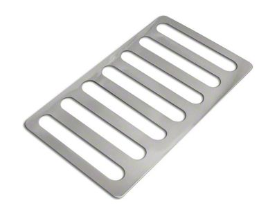 RT Off-Road Hood Vent Cover - Stainless Steel (07-18 Jeep Wrangler JK)