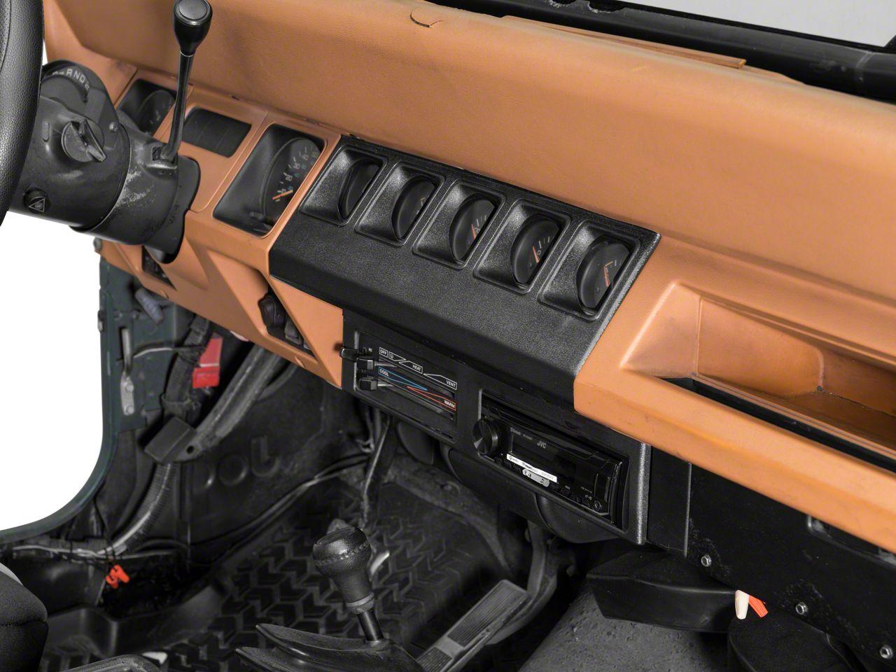 Crown Automotive Instrument Panel Housing - Black (91-95 Jeep Wrangler YJ)
