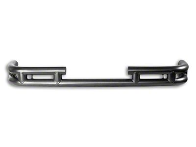 RT Off-Road Rear Double Tube Bumper - Black (07-18 Jeep Wrangler JK)