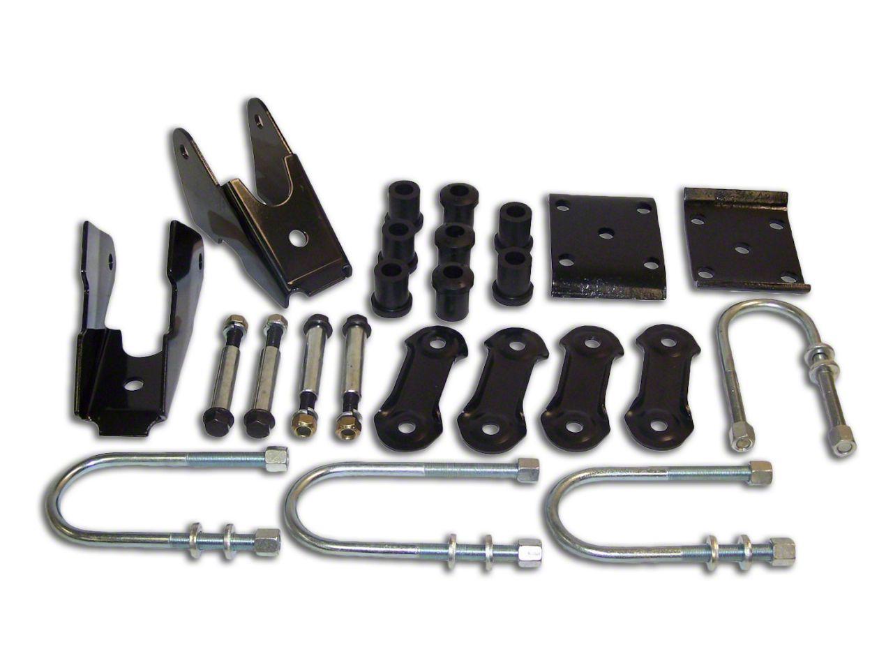Crown Automotive Rear Leaf Spring Mounting Kit (87-95 Jeep Wrangler YJ w/ Dana 35 Rear Axle)