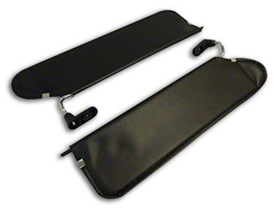 RT Off-Road Sun Visor Set - Black (03-06 Jeep Wrangler TJ)