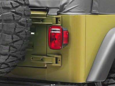 Omix-ADA Tail Light Lens (87-06 Jeep Wrangler YJ & TJ)