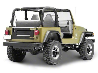 Omix-ADA Replacement Tailgate (97-02 Jeep Wrangler TJ)