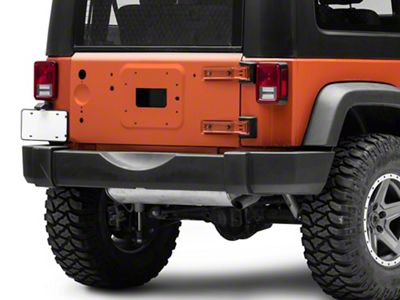 Omix-ADA Replacement Tailgate - Primered (07-18 Jeep Wrangler JK)