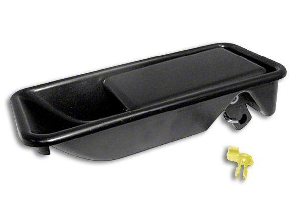 Tailgate Handle - Black Textured (97-06 Jeep Wrangler TJ)