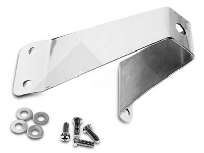 RT Off-Road Tailgate Tire Stop - Stainless Steel (87-95 Jeep Wrangler YJ)