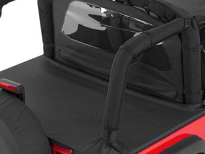 RT Off-Road Tonneau Cover - Black Denim (97-06 Jeep Wrangler TJ, Excluding Unlimited)