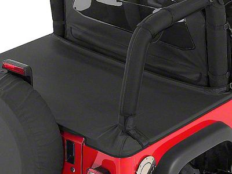 RT Off-Road Tonneau Cover - Black Denim (87-91 Jeep Wrangler YJ)
