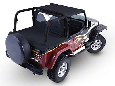 RT Off-Road Tonneau Cover - Black Diamond (97-06 Jeep Wrangler TJ, Excluding Unlimited)