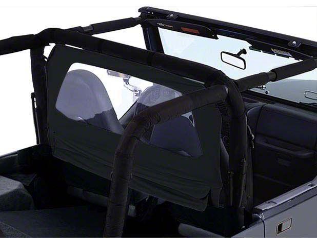 RT Off-Road Windbreaker - Black Diamond (07-18 Jeep Wrangler JK)