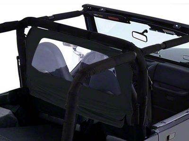 RT Off-Road Windbreaker - Black Diamond (87-06 Jeep Wrangler YJ & TJ)