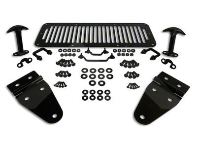 RT Off-Road Black Hood Kit (87-95 Jeep Wrangler YJ)