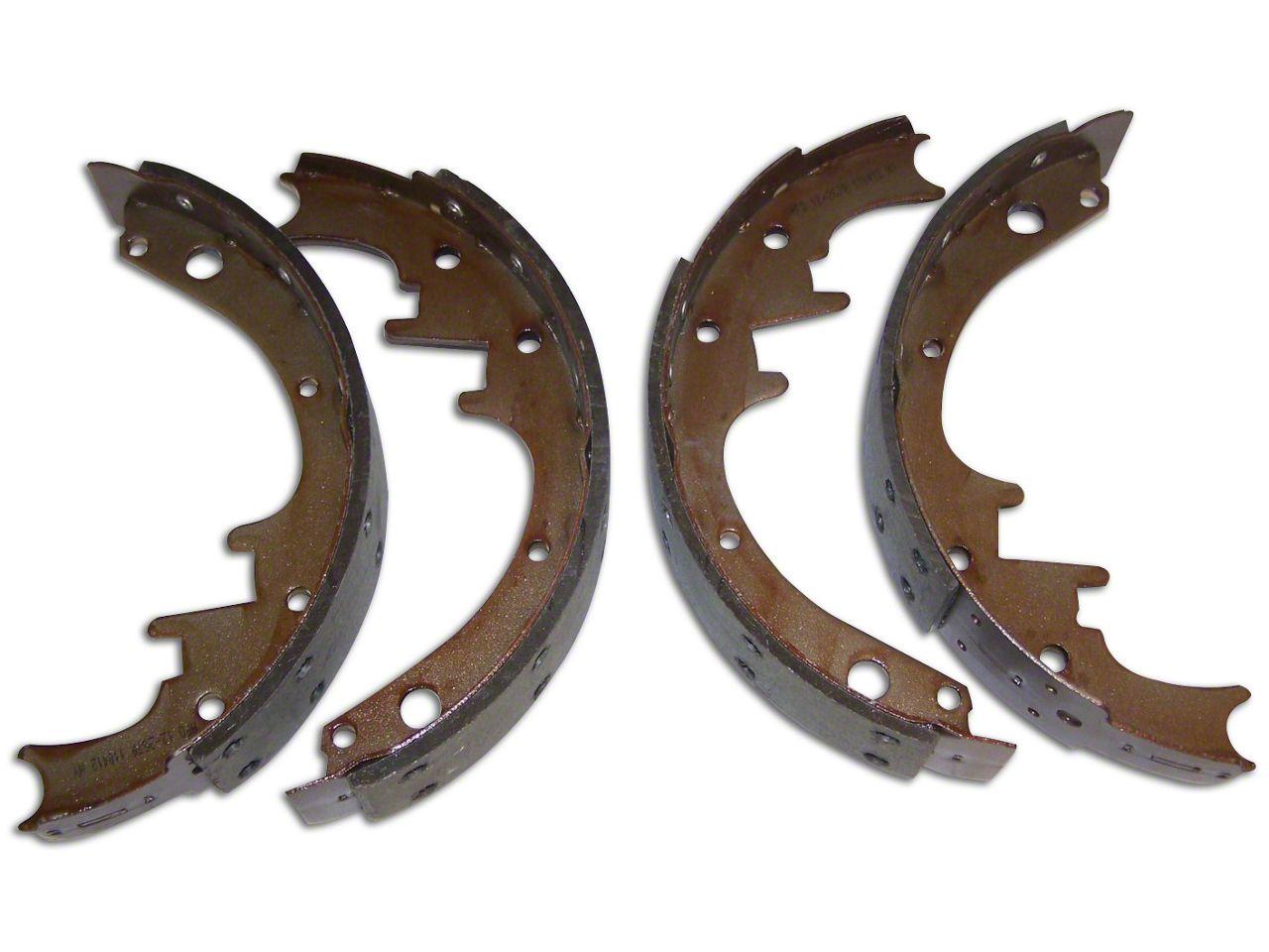 Brake Shoe & Lining Set - 10 in. x 1-3/4 in. (87-89 Jeep Wrangler YJ)