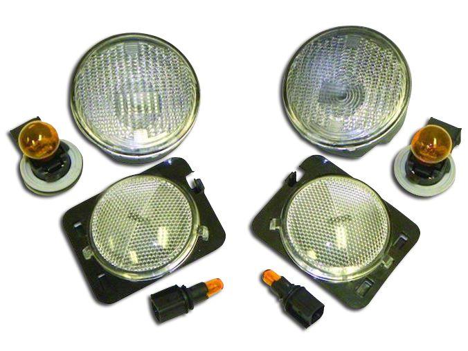 RT Off-Road Parking & Side Marker Light Kit (07-13 Jeep Wrangler JK)