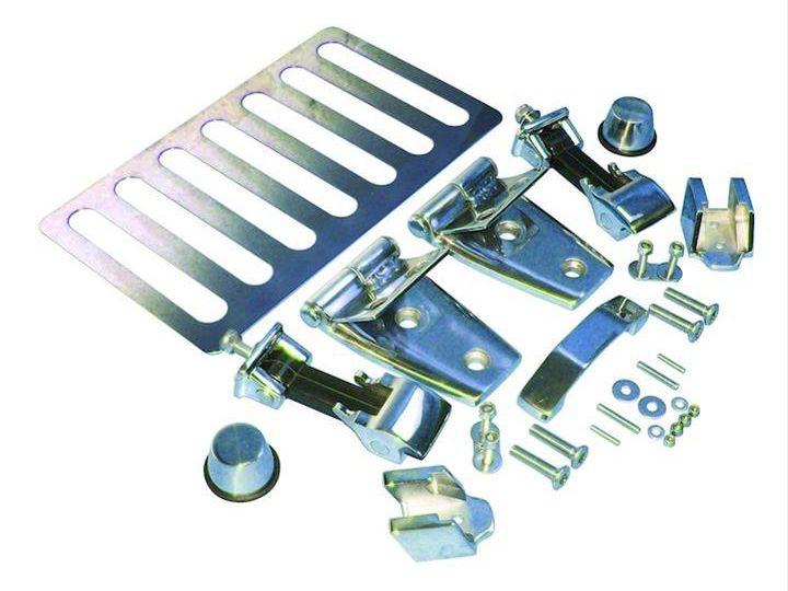 RT Off-Road Stainless Steel Hood Kit (07-18 Jeep Wrangler JK)