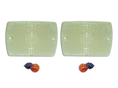 RT Off-Road Parking Light Kit - Clear (87-93 Jeep Wrangler YJ)