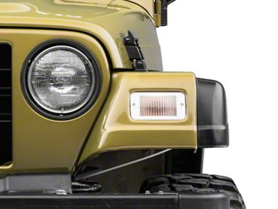 RT Off-Road Parking Light Kit - Clear (97-06 Jeep Wrangler TJ)