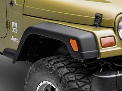 Omix-ADA Wide Fender Flares w/ Extensions (97-06 Jeep Wrangler TJ)