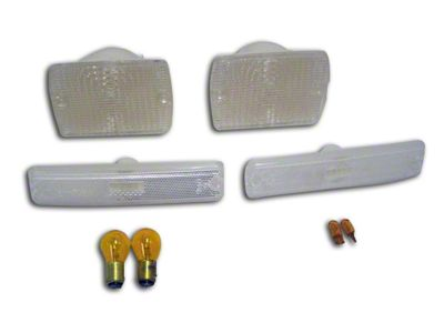 RT Off-Road Parking & Side Marker Light Kit (87-93 Jeep Wrangler YJ)