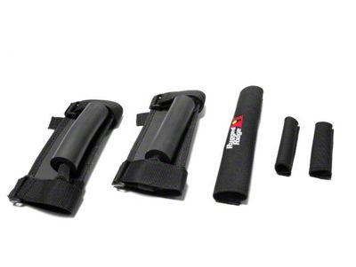 Rugged Ridge Grab Handle/Cover Kit - Black (87-95 Jeep Wrangler YJ)
