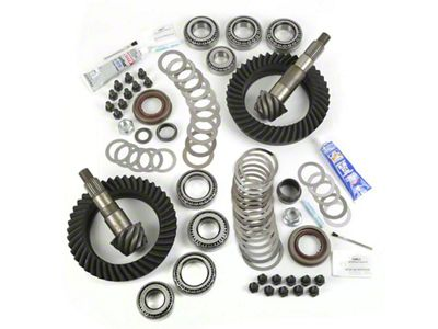 Alloy USA Dana 44F/44R Ring Gear and Pinion Kit w/ Master Overhaul Kit - 5.38 Gears (07-18 Jeep Wrangler JK Rubicon)