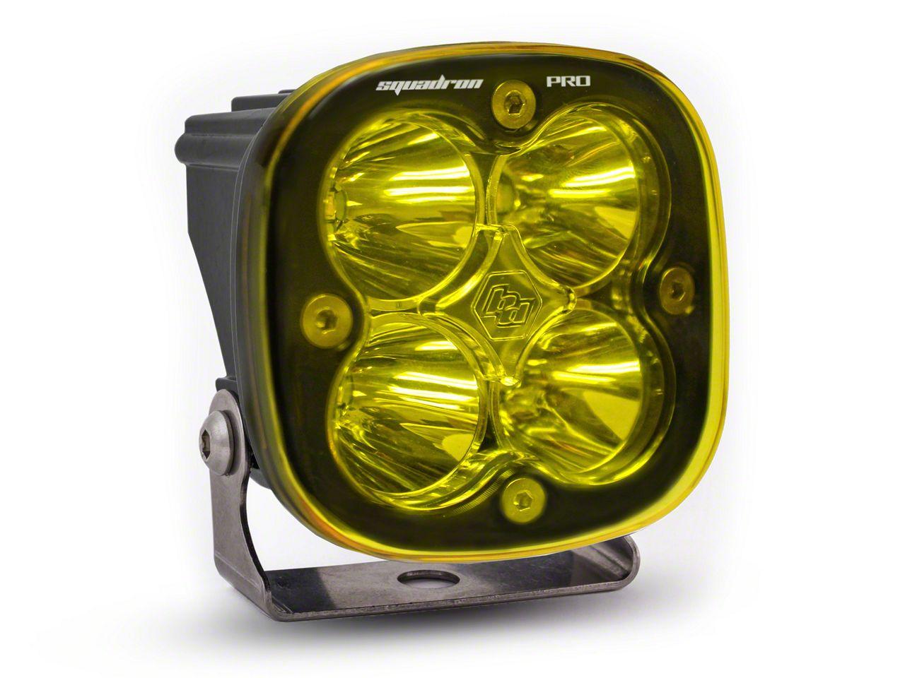Baja Designs Squadron Pro Amber LED Light - Spot