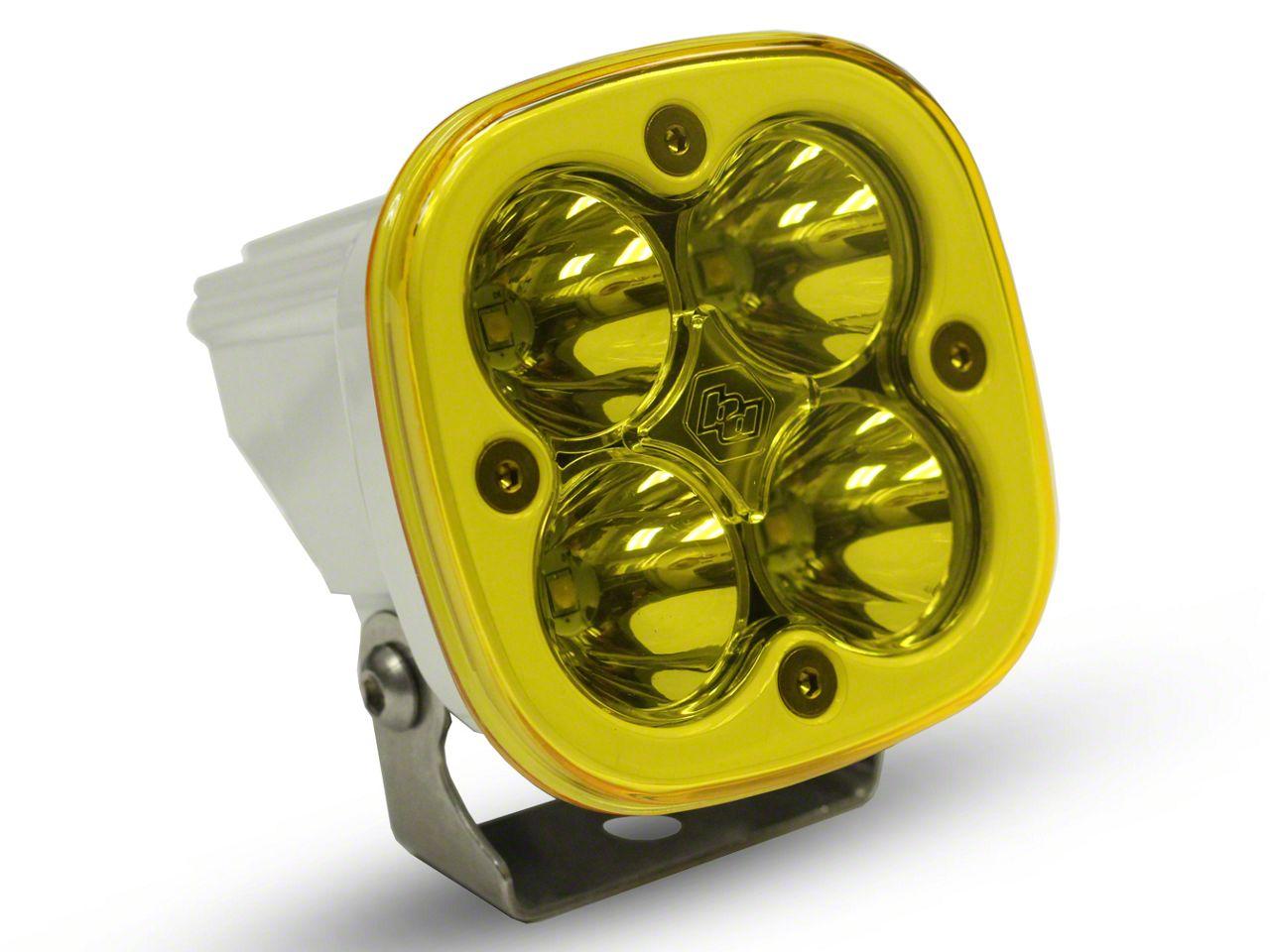 Baja Designs Squadron Pro White Amber LED Light - Spot Beam