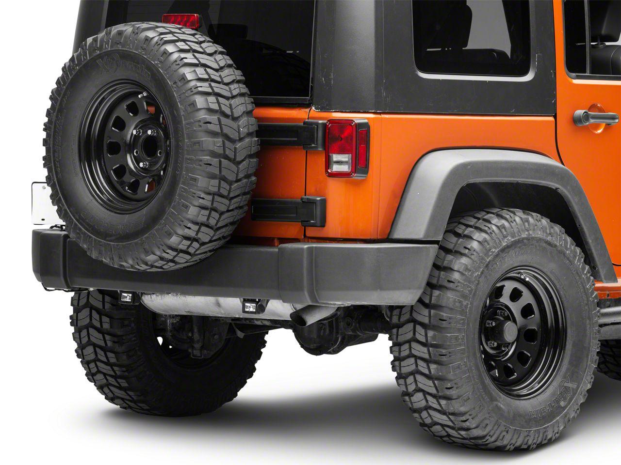 KC HiLiTES C-Series C2 Backup Flood Lights - Pair (87-18 Jeep Wrangler YJ, TJ, JK & JL)