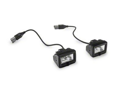 KC HiLiTES C-Series C2 Backup Flood Lights - Pair (87-19 Jeep Wrangler YJ, TJ, JK & JL)