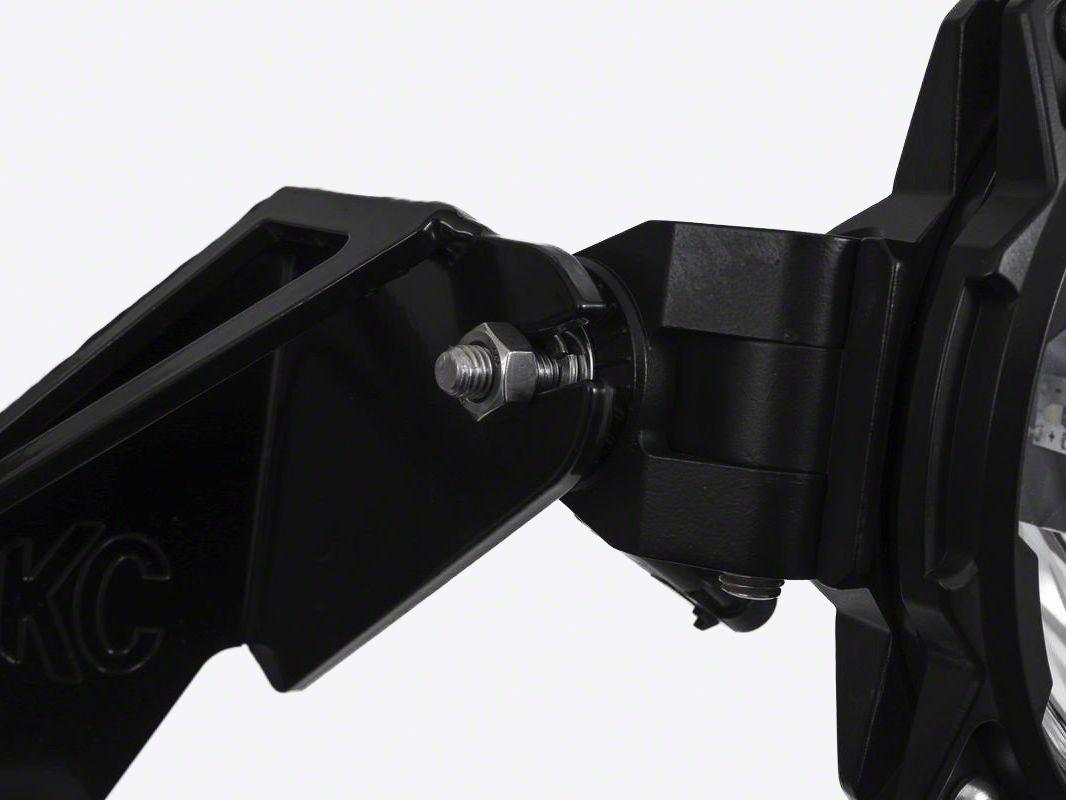 KC HiLiTES 45 in. Gravity Pro6 7-Light LED Light Bar - Flood/Spot Combo
