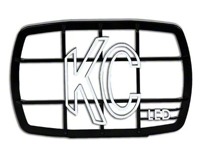 KC HiLiTES 4x6 in. Stone Guard for Gravity G46 LED Lights