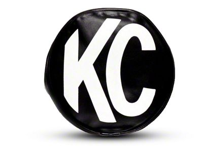 KC HiLiTES 5 in. Apollo/Slimlite Cover - Black (87-19 Jeep Wrangler YJ, TJ, JK & JL)