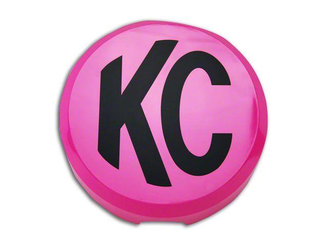 KC HiLiTES 6 in. Daylighter/Slimlite Cover - Pink (87-19 Jeep Wrangler YJ, TJ, JK & JL)