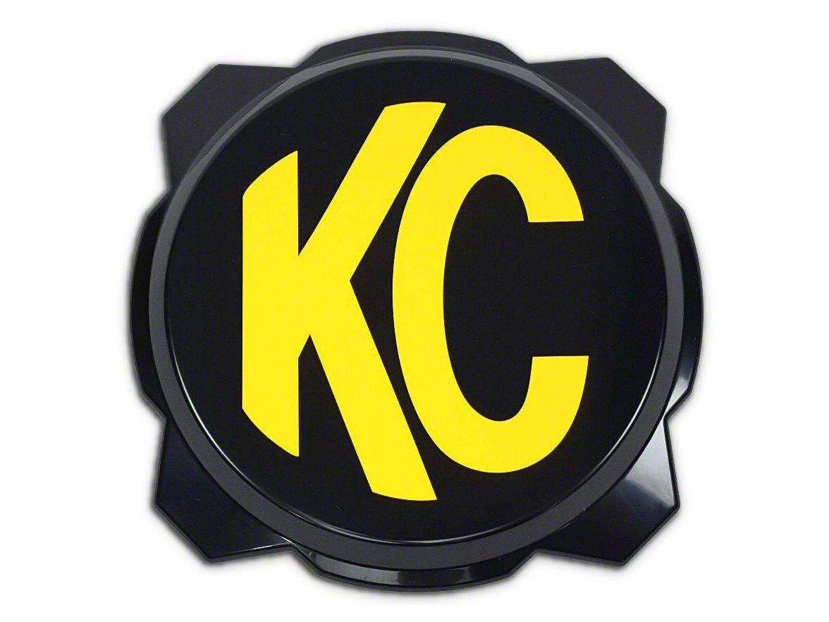 KC HiLiTES 6 in. Pro6 Cover (87-19 Jeep Wrangler YJ, TJ, JK & JL)