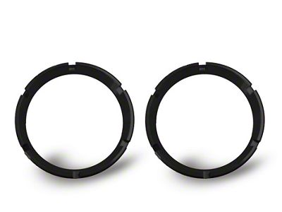 KC HiLiTES Black Bezel Ring for Flex LED