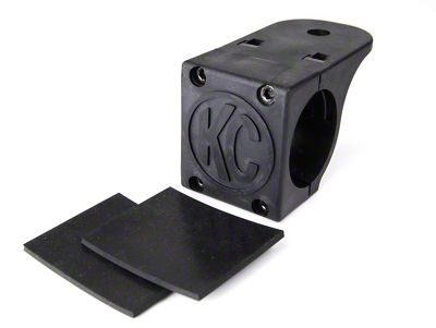 KC HiLiTES Light Mounting Clamp for 1.75-2 in. Tube (87-19 Jeep Wrangler YJ, TJ, JK & JL)