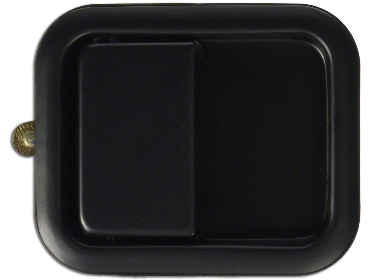 Vintage Door Handle - Black (87-95 Jeep Wrangler YJ w/ Full Steel Doors)