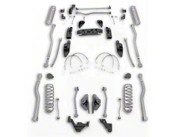 Rubicon Express 3.5 in. Extreme Duty 4-Link Long Arm Suspension Lift Kit (07-18 Jeep Wrangler JK 4 Door)