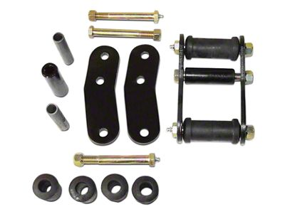 RT Off-Road Heavy Duty Greasable Shackle Kit (87-95 Jeep Wrangler YJ)