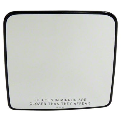 Crown Automotive Replacement Mirror Glass (07-10 Jeep Wrangler JK)