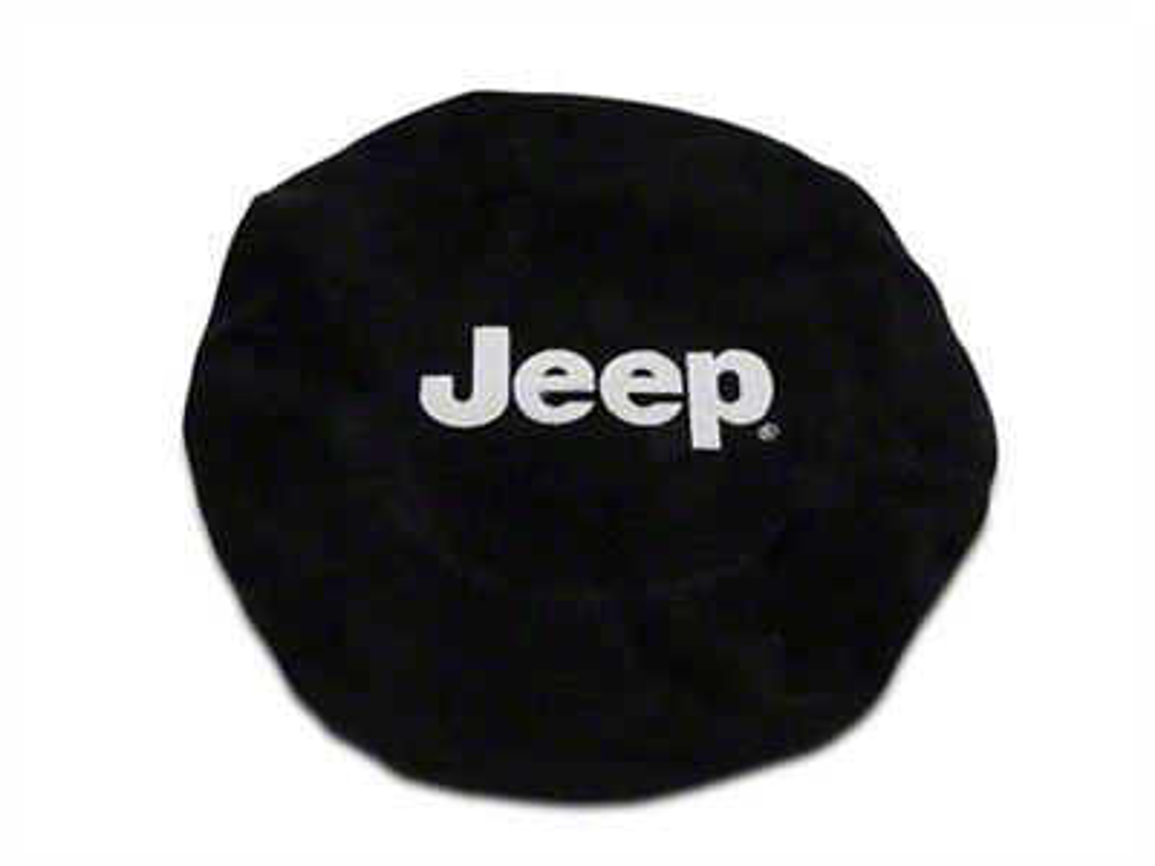 Alterum Steering Wheel Cover w/ Jeep Logo (87-19 Jeep Wrangler YJ, TJ, JK & JL)