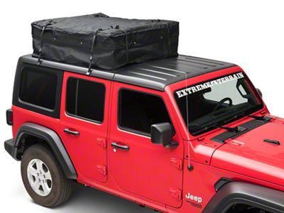 Rugged Ridge Roof Top Storage System (87-18 Jeep Wrangler YJ, TJ, JK & JL)