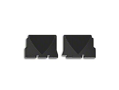 Weathertech All Weather Rear Rubber Floor Mats - Black (14-18 Jeep Wrangler JK 4 Door)