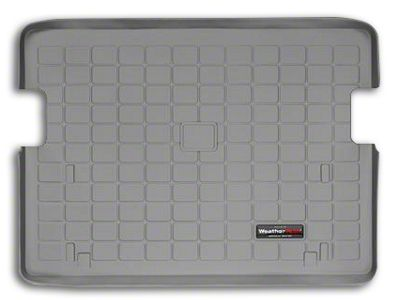 Weathertech DigitalFit Cargo Liner - Gray (03-06 Jeep Wrangler TJ, Excluding Unlimited)